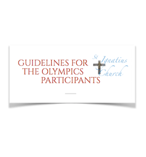 Guidelines for the Olympics Participants