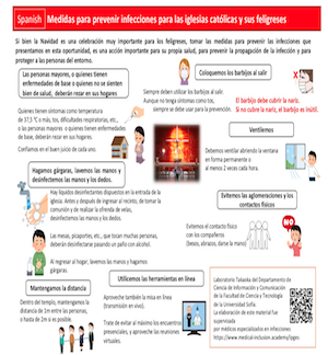 Infection Prevention Guideline in ten languages