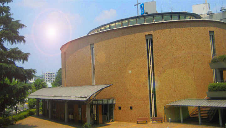 St Ignatius Church (Outside view of the Main Chapel)